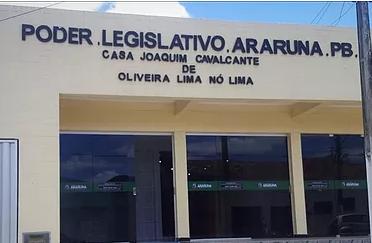 Presidente da Câmara de Araruna-PB emite decreto suspendendo sessões ordinárias
