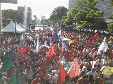 Protestos contra reformas da Previdência e Trabalhista param serviços em JP