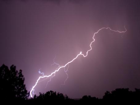 Chove forte no Sertão paraibano e Inmet emite alerta para 19 cidades