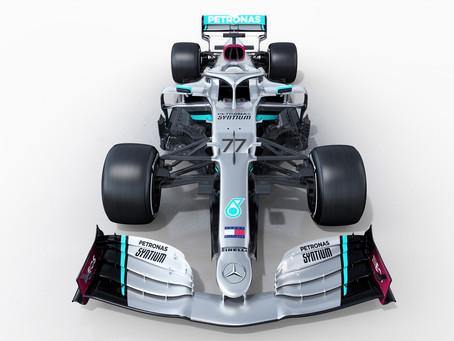 Em busca de conquista histórica, Mercedes lança seu carro para a temporada 2020