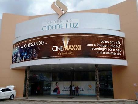 Shopping Cidade Luz de Guarabira inaugura hoje 3 salas de cinema
