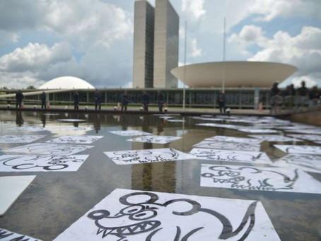 Manifestantes ocupam ruas do Brasil em protesto; veja fotos em várias capitais