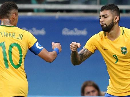 Brasil goleia a Dinamarca por 4 a 0 e se classifica nos Jogos do Rio 2016