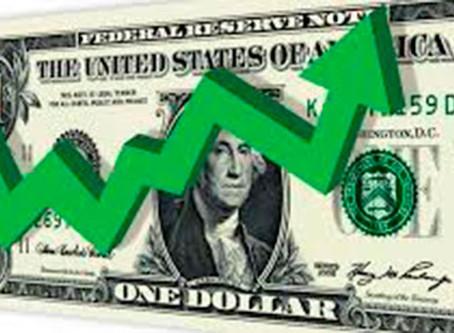 Dólar encosta em R$ 4,22 e fecha no maior valor em mais de dois meses