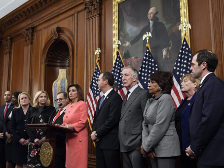 Deputados enviam processo de impeachment contra Trump ao Senado dos EUA
