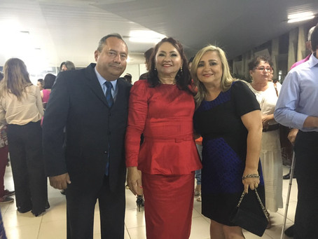 Professora Maria da Penha de Lima Coutinho recebe título de professora emérita e é prestigiada por p
