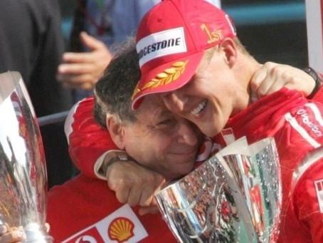 'Schumacher continua lutando', afirma amigo e ex-chefe Jean Todt