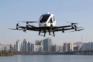 Coreia do Sul apresenta 'táxi-drone' não tripulado