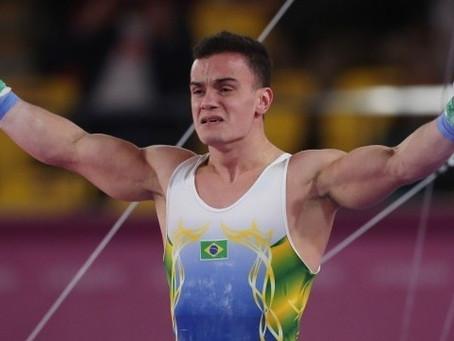 Brasil garante ouro e prata na ginástica masculina em Lima