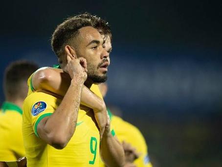 Com dois gols do paraibano Matheus Cunha, Brasil vence Argentina
