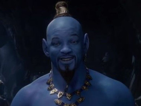Trailler de 'Aladdin', traz Will Smith de Gênio azul