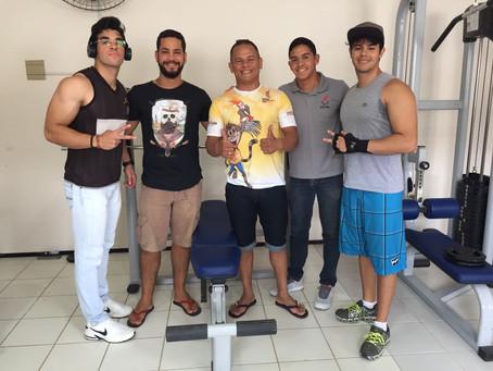 I Campeonato de Supino Reto na Academia UEPB Araruna-PB