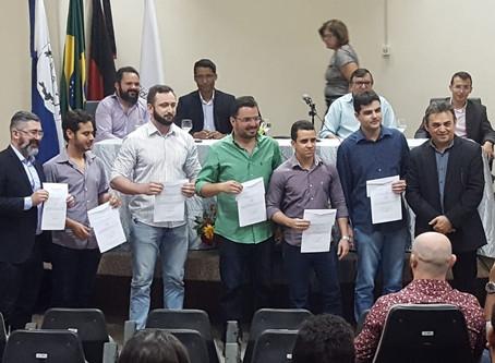 Empossados novos diretores e coordenadores de cursos da UEPB - CCTS Campus VIII