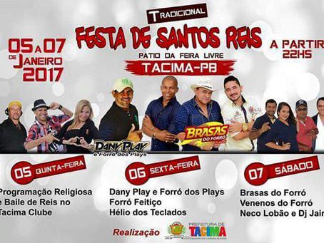 Tradicional Festa de Santos Reis em Tacima