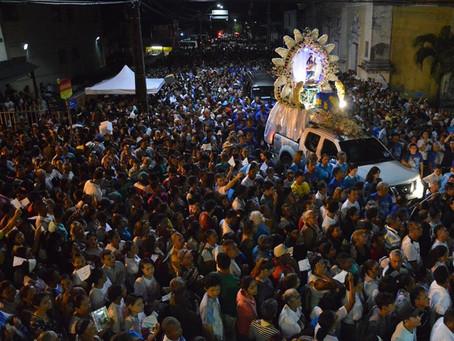 Romaria da Penha levou mais de 420 mil fiéis em procissão