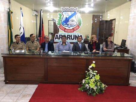 Câmara de Araruna/PB realizou sessão solene para entrega de Títulos de Cidadão Ararunense
