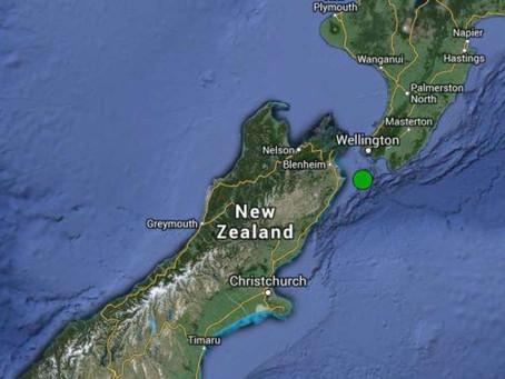 Terremoto de 6,9 graus sacode o norte da Nova Zelândia