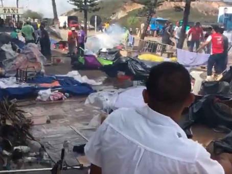 Brasileiros de Pacaraima expulsam venezuelanos após ataque