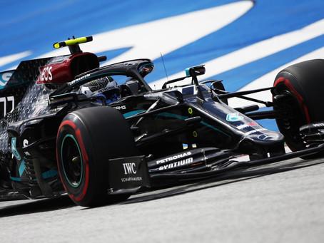 GP da Áustria: Bottas desbanca Hamilton