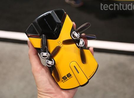 Drone de bolso filma em 4K e dá até 'tiros' (veja video)