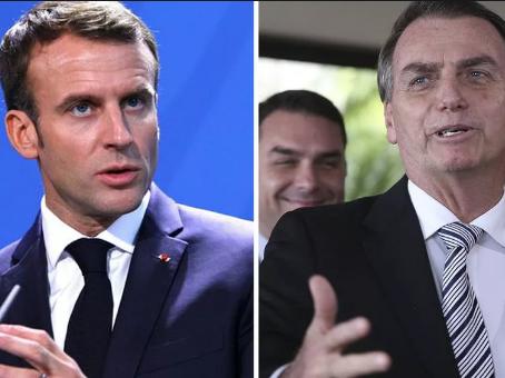 Após polêmica com Macron, Bolsonaro apaga comentário sobre primeira-dama da França