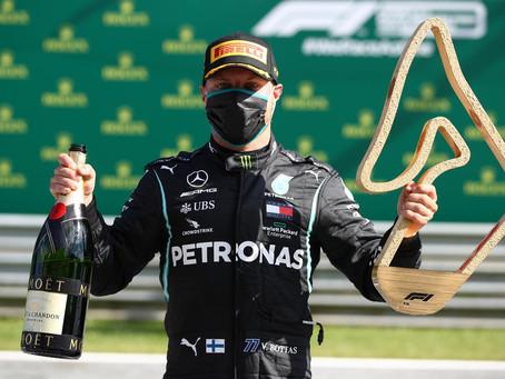 GP da Áustria: Bottas vence, e Hamilton é punido
