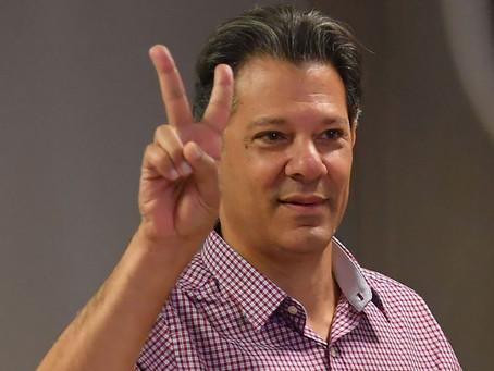PT confirma presença do presidenciável Haddad na Paraíba