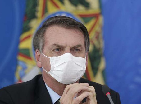 Jair Bolsonaro testa positivo para covid-19