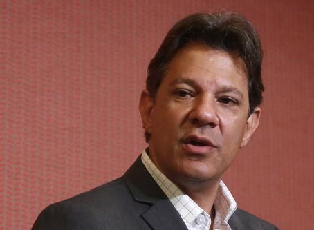 Pelo Twitter, Haddad deseja sucesso a Bolsonaro