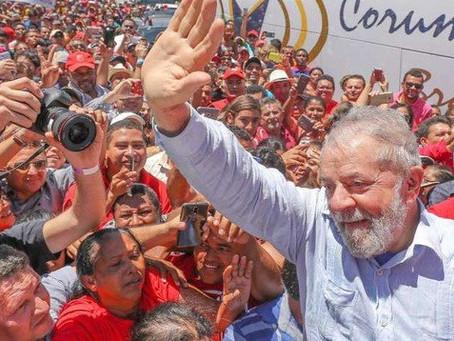 LULA DISPARA EM TODAS AS REGIÕES E JÁ TEM 43% ATÉ NO RIO GRANDE DO SUL