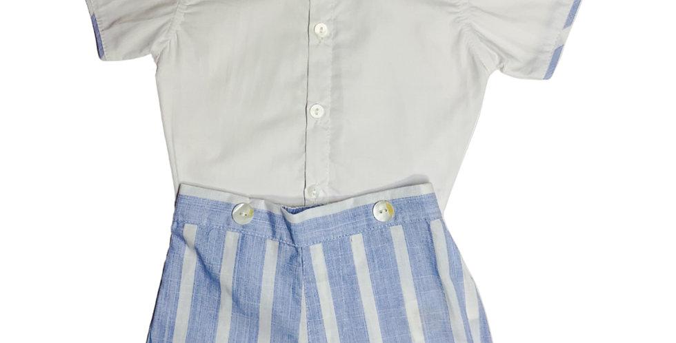 Cotton Shirt and Pant Set