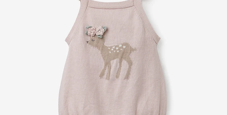 Fawn Baby Romper