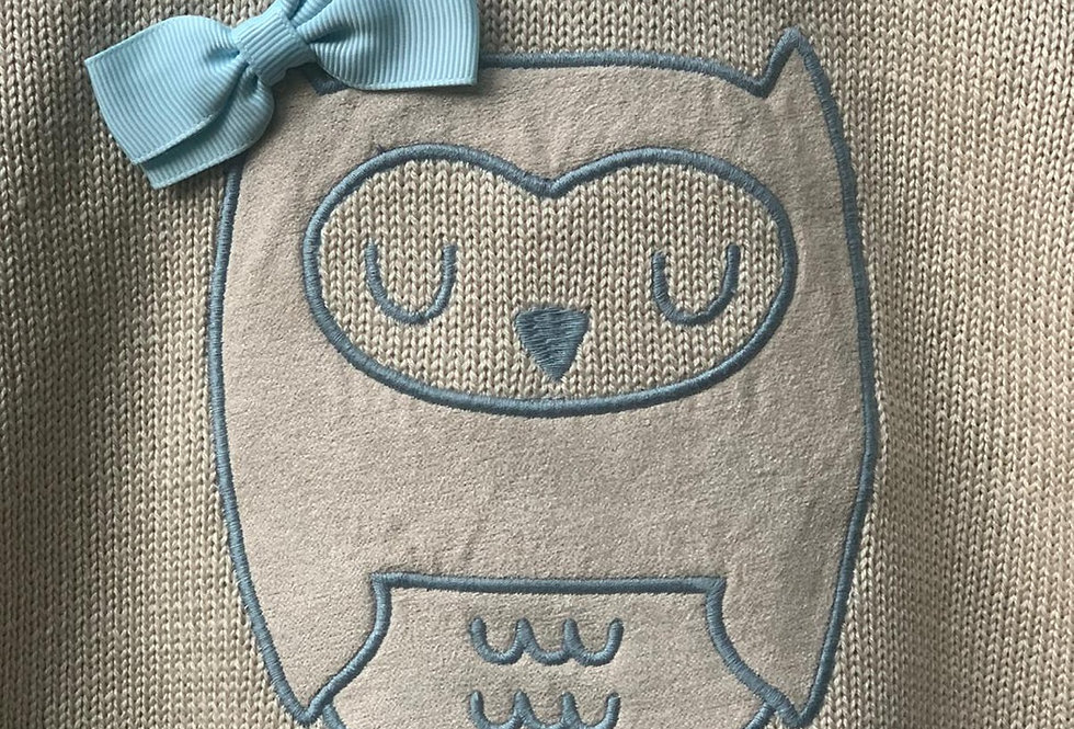 Lady Owl Knitted Sweater