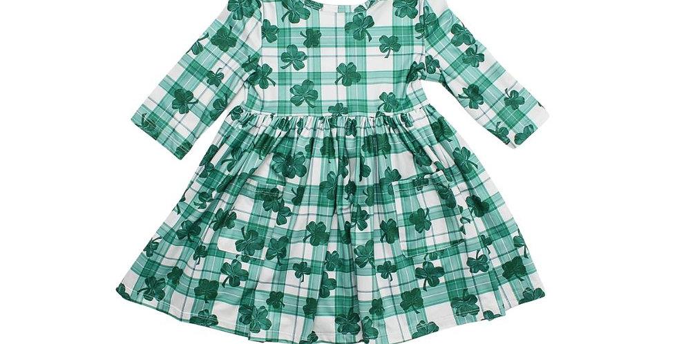 Lucky One Twirl Dress with Pocket