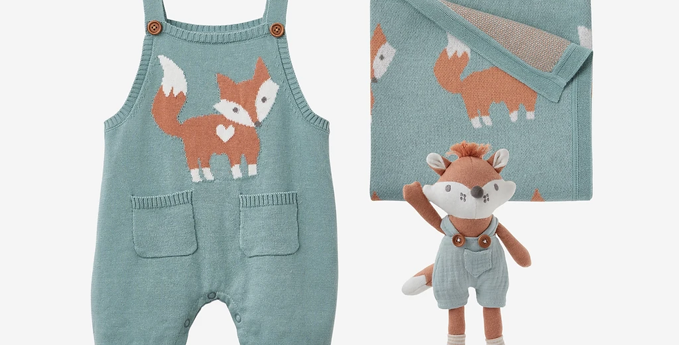 Gift Set Fox Knit Baby