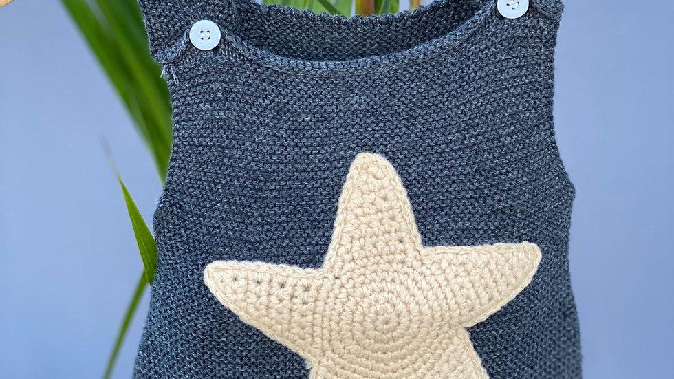 Starfish Knitted Romper