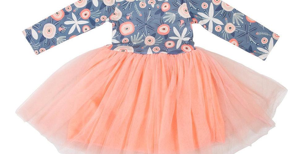 Winter Blossom Tutu Dress