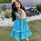 Thumbnail: Lace Dress Turquoise