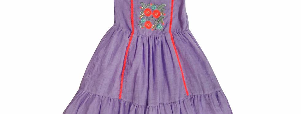 Lace Dress Purple