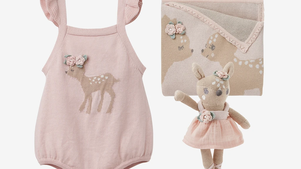 Gift Set Fawn Knit
