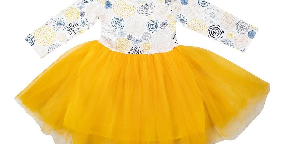 Gold Tutu Dress