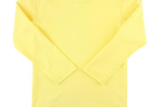 Lemon Long Sleeve Rash Guard