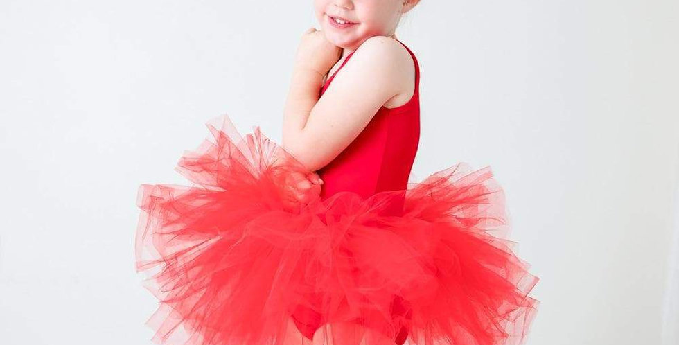 Red Tutu Leotard