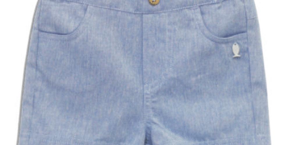 Little Blue Sea Shorts