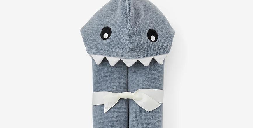 Baby Shark Hooded Bath Wrap