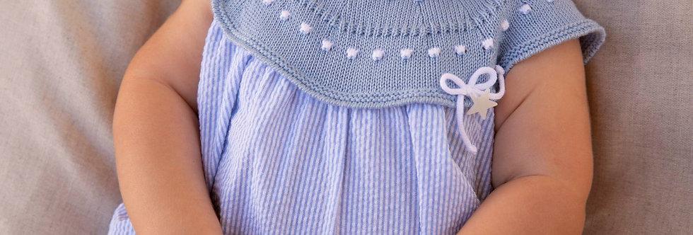 """Pelele Punto-Tela """"Dan"""" (Knitted)"""