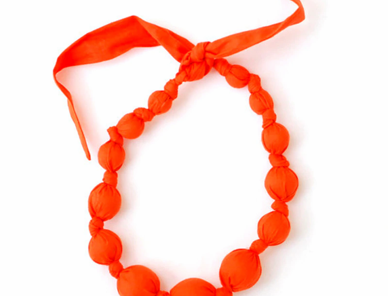 Lava Wooden Necklace