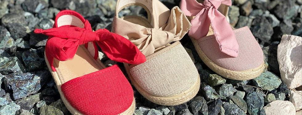 Agatha's Big Bow Sandal