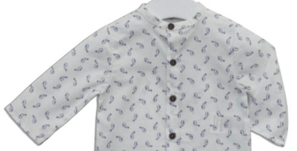 Seahorse Button Shirt