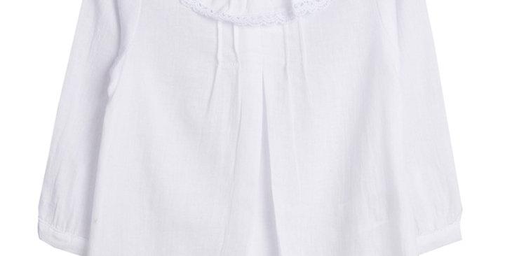 Sweet Emilia's White Blouse